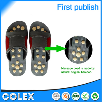 High Quality Foot Massager Shoes Natural Bamboo Bead,Healthy Care ...