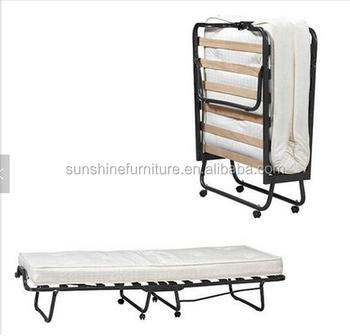 low priced c1c06 224a2 Single Folding Bed Guest Bed For Hostel With Mattress And Wheels - Buy  Single Folding Bed,Single Folding Guest Bed,Single Folding Bed For Hostel  ...