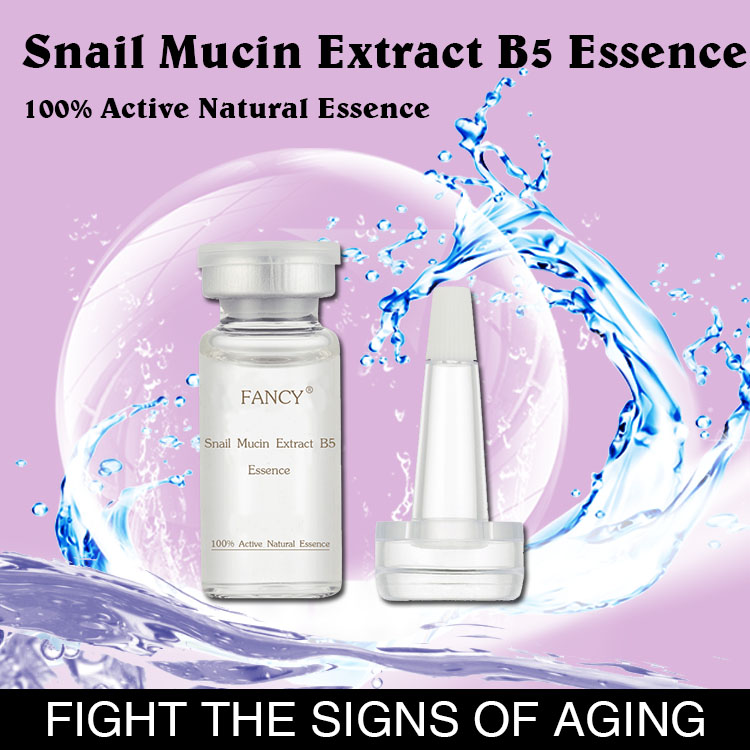2017 Hot!!! Natural 10 ml Snail Essence Repairing & Whitening Facial Serum
