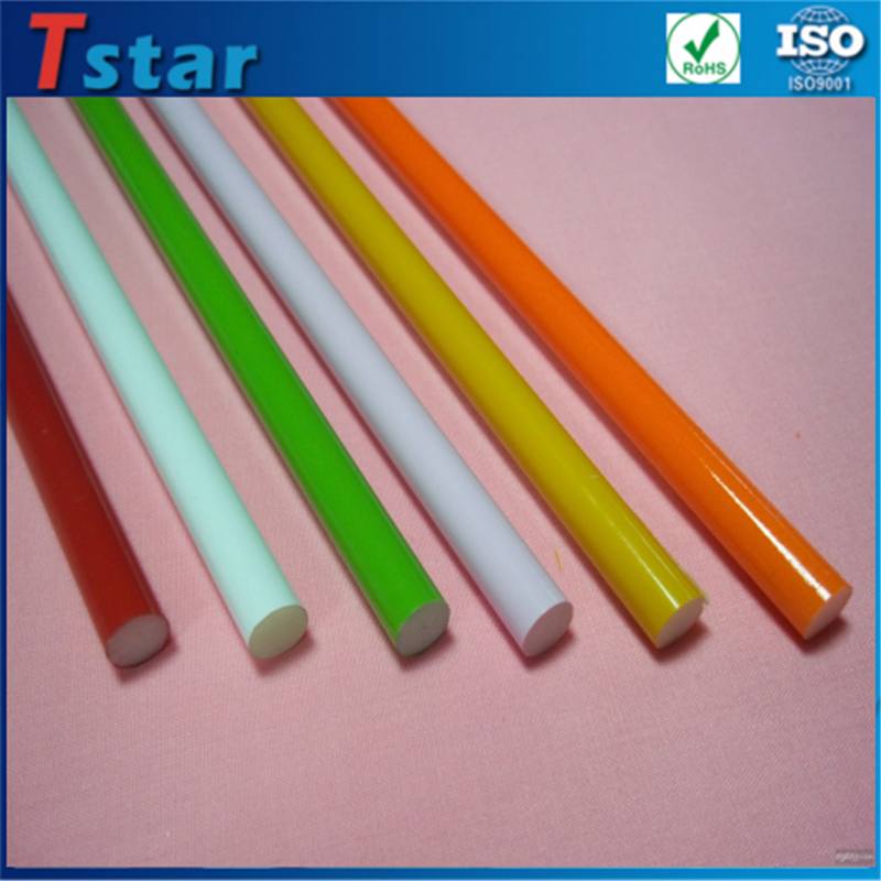 High quality fiberglass stake/pole/fiberglass rods with low price