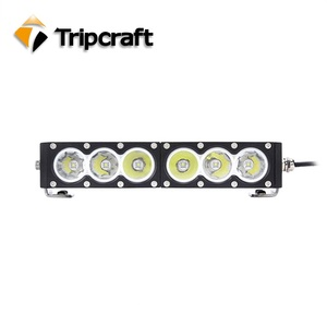 Factory direct sell 60w led driving light long lifespan car led light bar crees off road led light bar CE, ROHS IP67