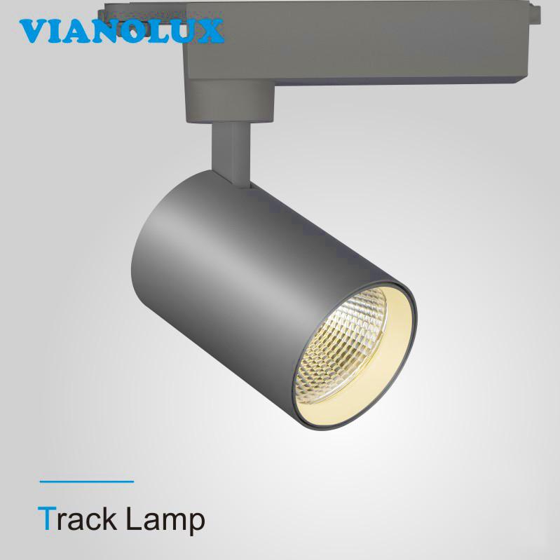 High Quality 20w 28w 32w 38w 42w 60w 230v Cob Gallery Led Track Lighting Light Spot