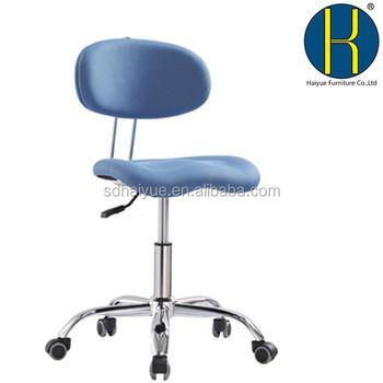 Draaibare Antieke Bureaustoel.Nieuwe Blauwe Smart Tex Multifunctionele Bureaustoel Zonder