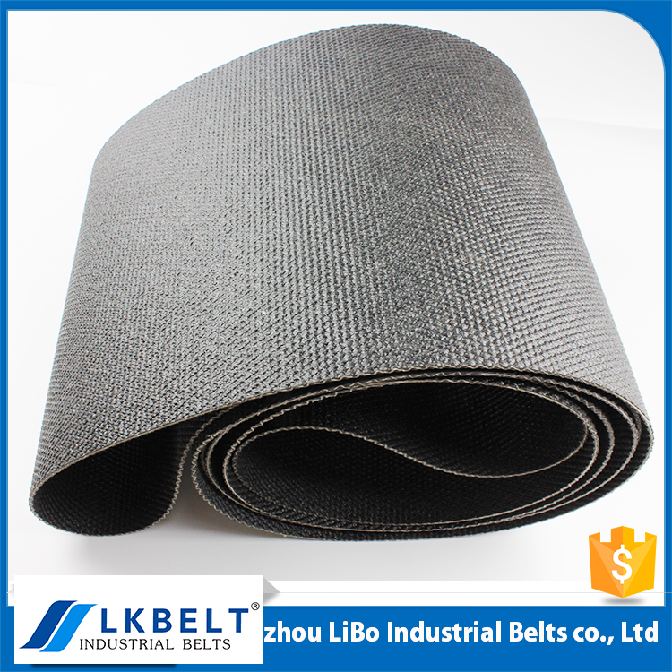 Guangzhou Manufacturers High Strength black PVC Conveyor Belt for Logistic/Iron/Steel Production Line