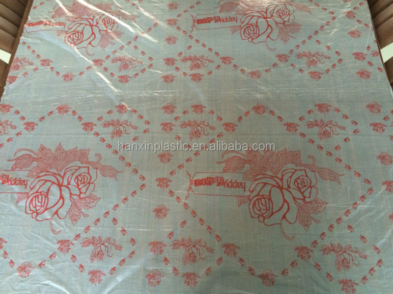 Attractive Water Proof Plastic Table Cloth Table Sheet