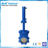 DN100 Carbon Steel Hydraulic Knife Gate Valves for Paper Making