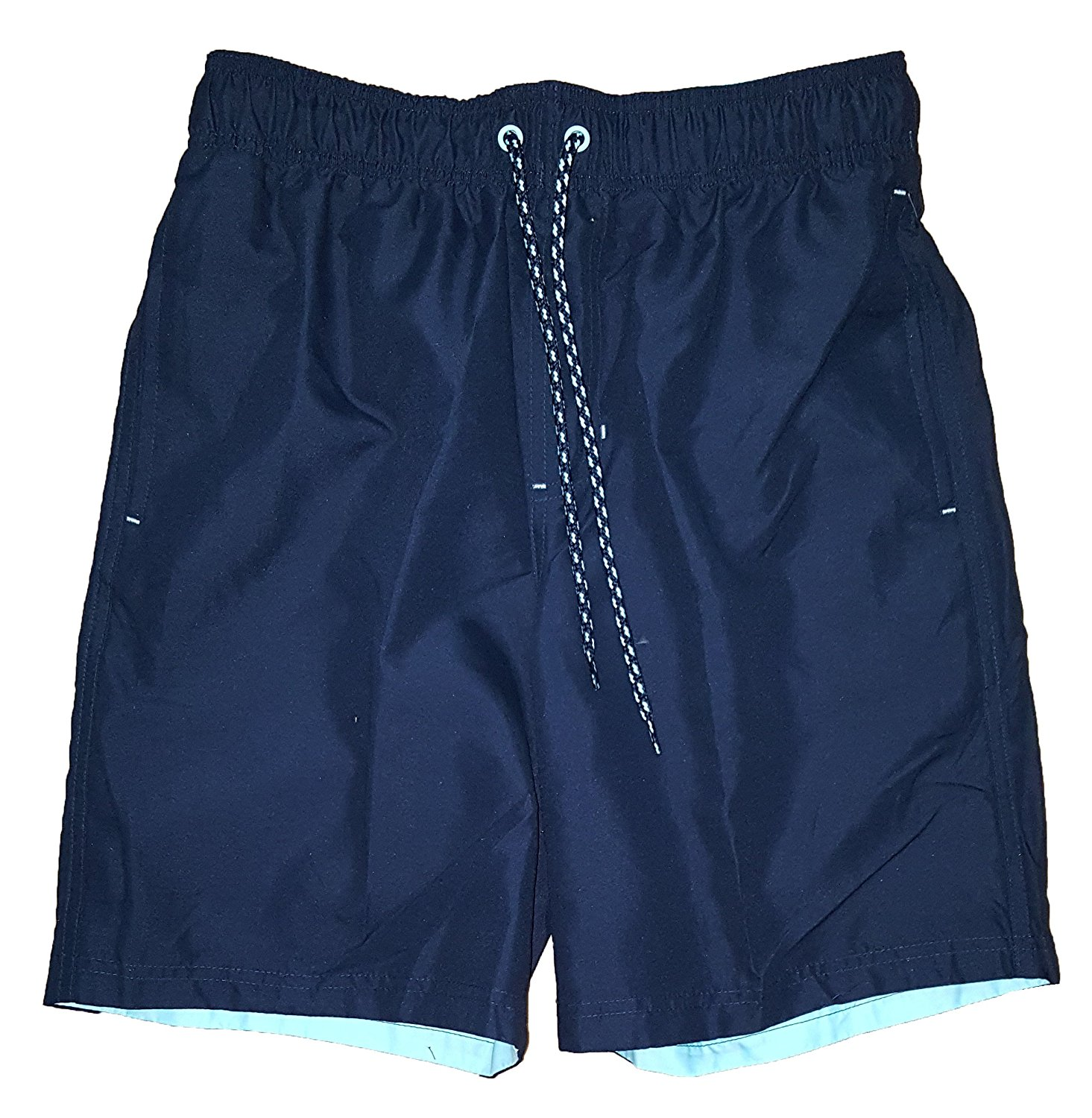 33870853e6 Get Quotations · All Guy Dark Navy Solid Above The Knee 8