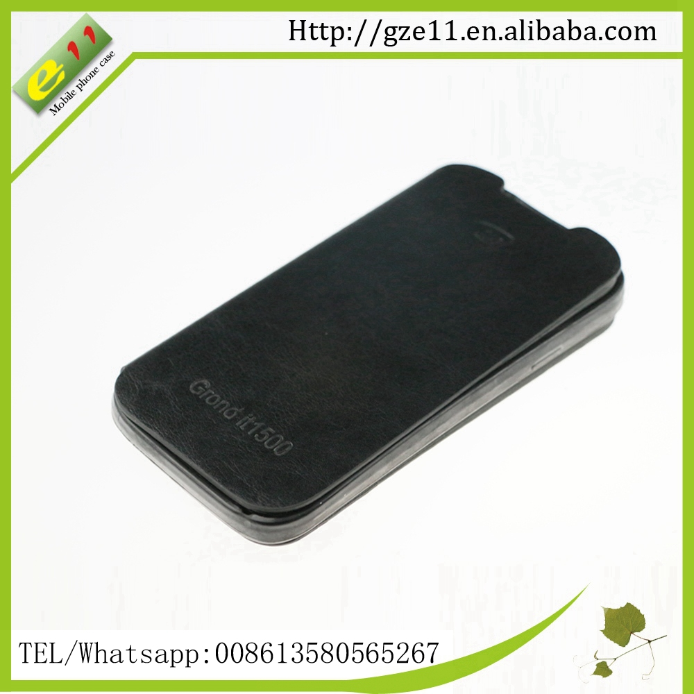 Factory custom phone case with pocket for Itel Grand it 1500