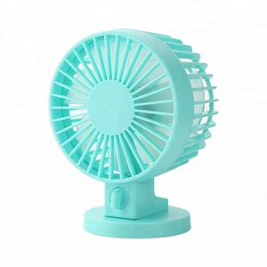 Eco Friendly USB Charging Mini Desk Fan Cool Dual Blades Design Wholesale