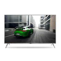 Factory wholesale price flat big screen television 55 60 65 70 inch android smart 4k led tv with wifi network IPS panel