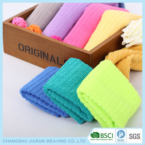 2016 Wholesale super absorbsent soft microfiber hand towel