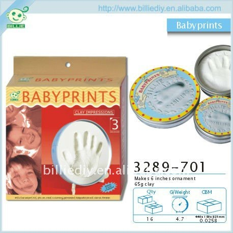 Toptable Babyprint with Tin box
