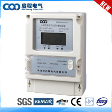 Real-Time reading three phase energy meter connection