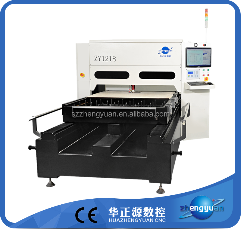 service life forever ZY1218-1000W laser cut wood die making machine