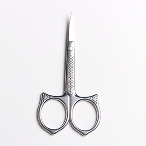 Wholesale cosmetic stainless steel nail cuticle scissors