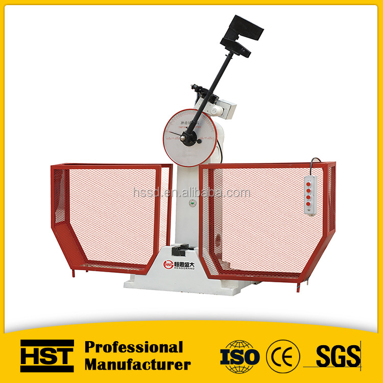 fast speed charpy impact testing machine/metallic materials impact testing instrument