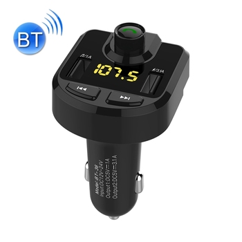 Dropshipping FM Transmitter Wireless In-Car Radio Adapter Music Player Hands-Free Calling Car Kit