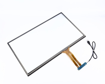 23.8 inch industrial touch screen panel with usb touch screen kit
