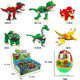 WANGE Twisted Egg Series dinosaur park model building blocks