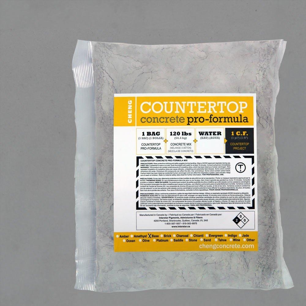 Cheng Concrete Countertop Pro-Formula Mix - Platinum