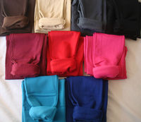 Women Solid Winter Fleece Lined Leggings Many Colours