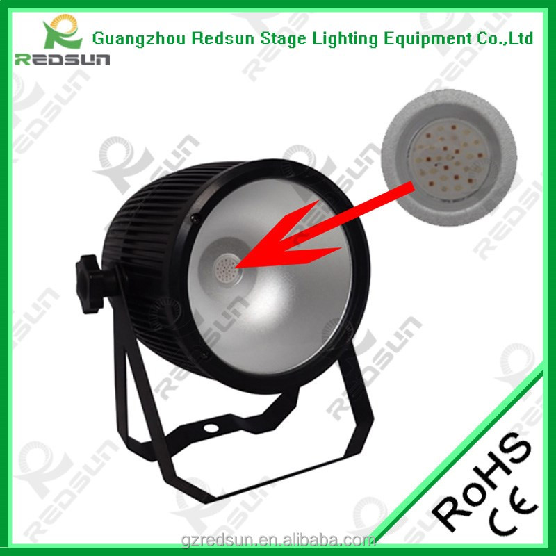 Light up for stage decoration with remote contorlled operated par light