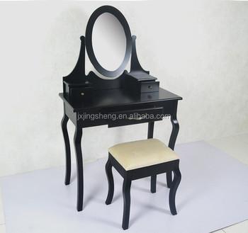 Nouveau Modele Noir Haute Brillance Exquis Commode En Bois Massif