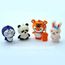 Rabbit&Kitty silicone usb stick cover/case