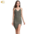 Sexy Deep V Neck Adjustable Spaghetti Strap Sleeveless Wrap Dress Front Slit Stretchy Dresses Summer Dress for mature women
