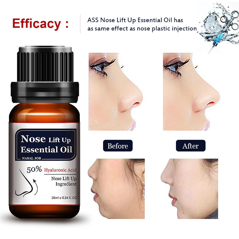 New Arrival 10ML Powerful Nose Bone Remodeling Nose Lift Up Essential Oil
