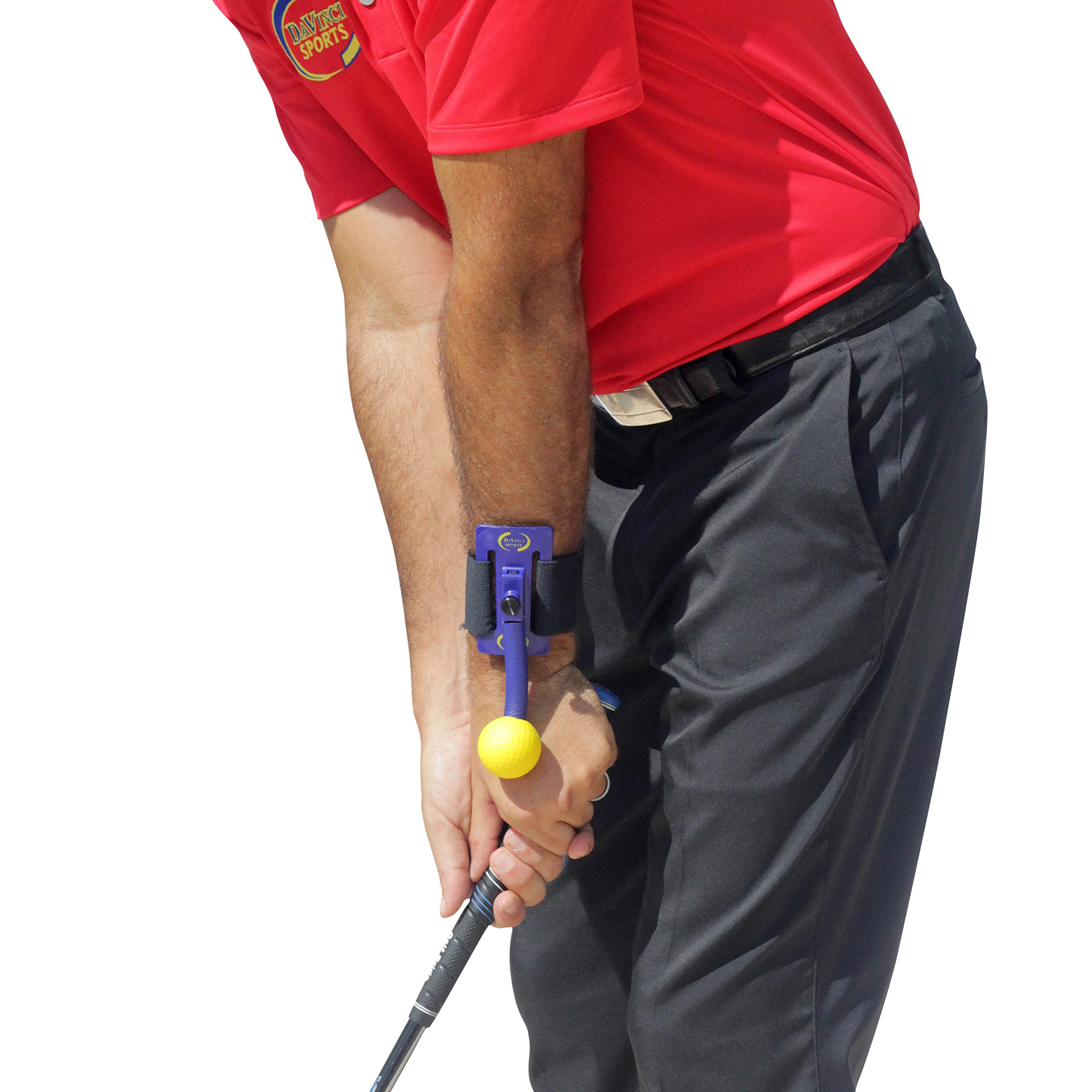 Golf swing wrist cock at impact
