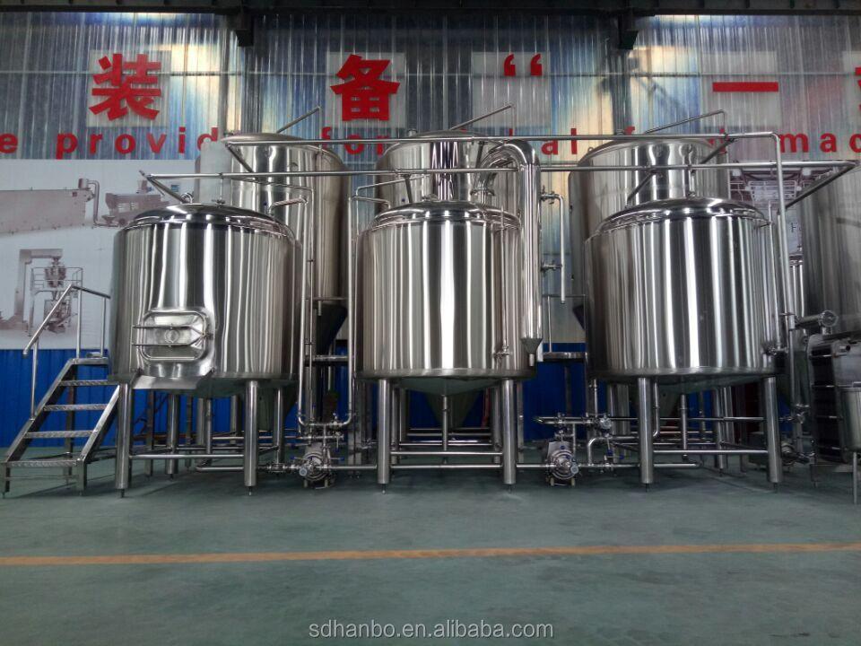 1000l बीयर पक उपकरण निर्माताओं Brewhouse माइक्रो शराब की भठ्ठी के लिए बिक्री