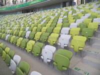 anti-UV foldable stadium tribune seat,stadium chair for stadium,arena