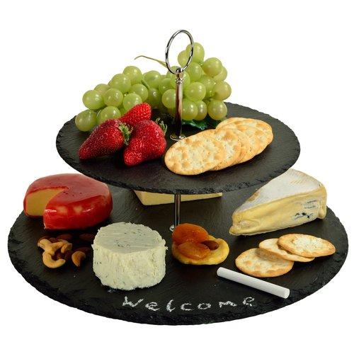 Cheap Slate Chopping Board Slate Tray for Food in Heart Shape