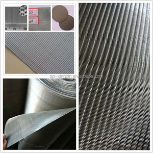 Mesh size (2 - 2300) stainless steel dutch weave filter wire mesh/ netting /screen/ cloth (P - 019)