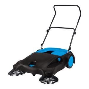 Road manual sweepers pushing floor electric sweeper for public/park/street sweeper