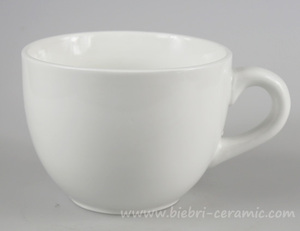 22oz Plain White Big Large Oversized Ceramic Coffee And Tea Mugs And Cups