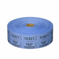 Deposit High Quantity Carnival Tickets Double custom ticket roll arcade ticket roll printing