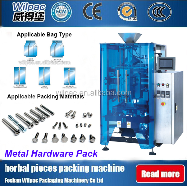 nut bolt/screw/counting/nail/hardware pouch packing machine