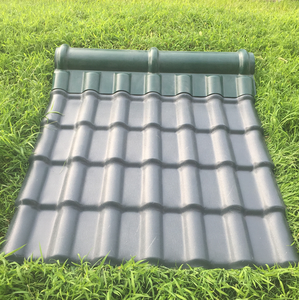 building material pvc roof tiles/construction materials synthetic resin roof tile/pvc telha de plstico