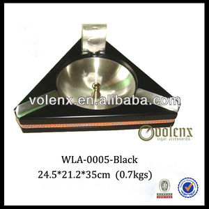 Hot sell!! Black Triangle Stainless Steel Ashtray Stand (SGS&BV)