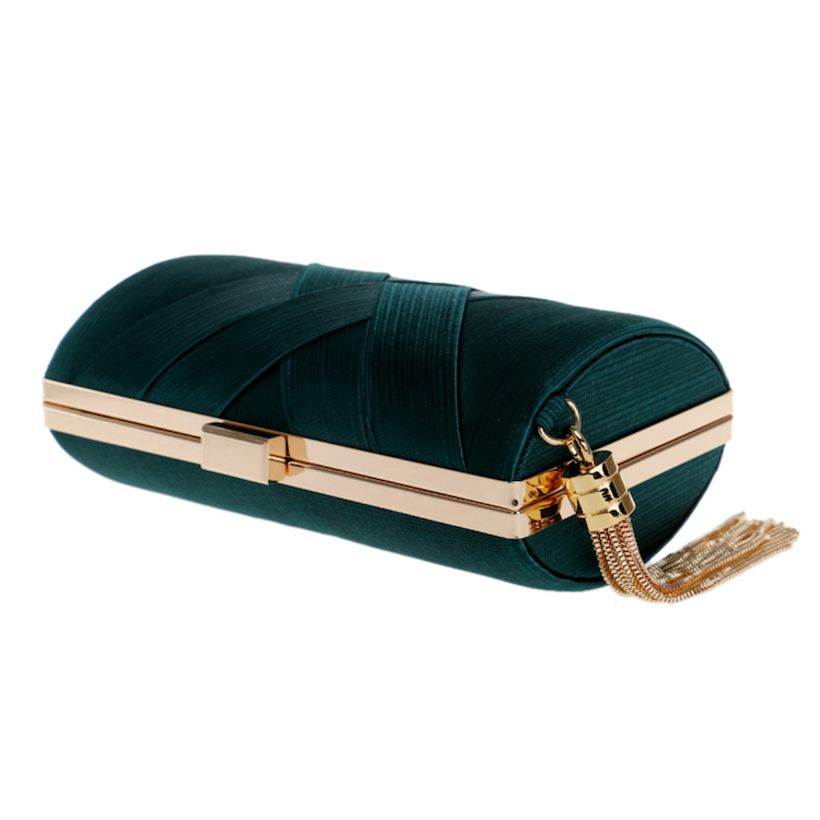 colored Evening Bags and Clutches for Women silk Clutch  Purse Wedding Party Handbag