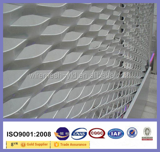 Alluminio lamiera stirata per pareti esterne di rivestimento ...