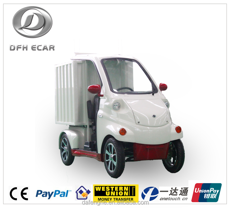 Small Food Delivery Electric Truck With Ce Certificate For