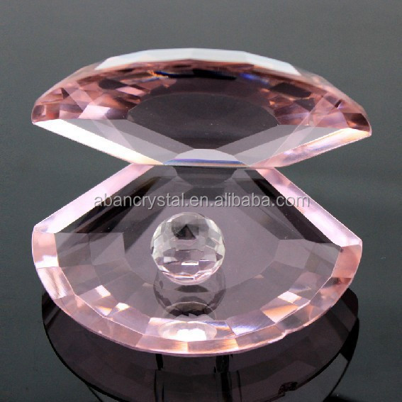 Kristal Mewah Model Kulit Dengan Mutiara Kerang Mutiara