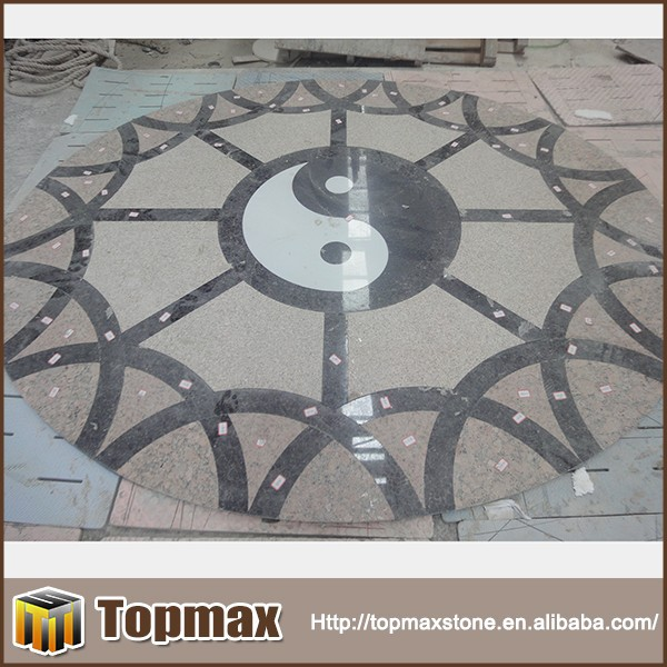 Chinese traditional style latest design water jet marble