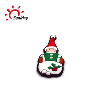 Wholesale custom Christmas snowman fridge magnet for sale