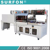 Plastic Packaging Material Automatic Side Sealer&Shrink Tunnel