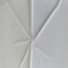 aloe vera polyester knitted mattress ticking fabric by china suppliers