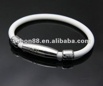 High Quality Energy Anium Germanium Silicone Balance Bracelet
